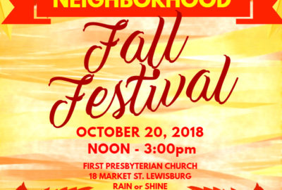 Neighborhood Fall Fest