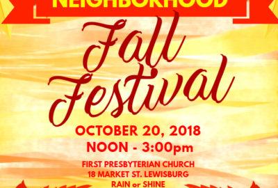 Neighborhood Fall Fest