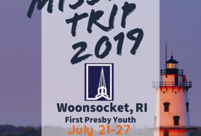 2019 Youth Mission Trip
